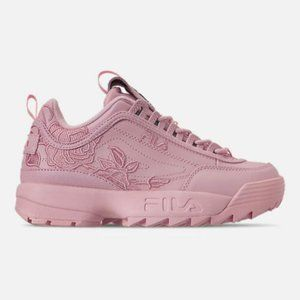 AUTHENTIC Fila Disruptor 2 Embroidery Pink Women